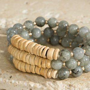 Jewelry - THE FUTURE IS HERE SEMI PRECIOUS STONE BRACELET